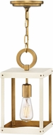 Hinkley 4077HB-WT Porter Heritage Brass w/ Warm White Mini Lighting Pendant