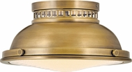 Hinkley 4081HB Emery Vintage Heritage Brass Ceiling Light