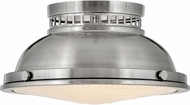Hinkley 4081PL Emery Retro Polished Antique Nickel Ceiling Light Fixture
