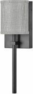 Hinkley 41009BK Avenue Modern Black LED Wall Sconce Light