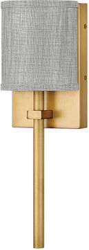 Hinkley 41009HB Avenue Modern Heritage Brass LED Wall Lamp