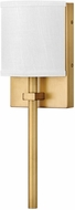 Hinkley 41010HB Avenue Contemporary Heritage Brass LED Light Sconce