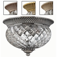 Hinkley 4102 Plantation Tropical Outdoor Two-Light Ceiling Fixture
