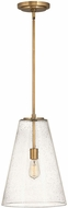 Hinkley 41047HB Vance Modern Heritage Brass Ceiling Pendant Light