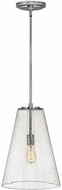 Hinkley 41047PN Vance Modern Polished Nickel Drop Ceiling Light Fixture