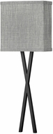 Hinkley 41101BK Axis Contemporary Black LED Wall Light Fixture