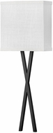 Hinkley 41102BK Axis Modern Black LED Wall Lighting Sconce