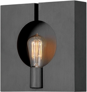 Hinkley 41310BGR Ludlow Contemporary Brushed Graphite Wall Lamp