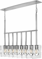Hinkley 41315PNI Ludlow Contemporary Polished Nickel Kitchen Island Lighting