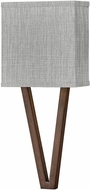 Hinkley 41501WL Vector Contemporary Walnut LED Wall Sconce Lighting