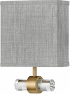 Hinkley 41601HB Luster Contemporary Heritage Brass LED Wall Mounted Lamp