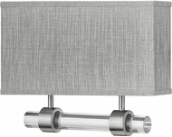 Hinkley 41603BN Luster Contemporary Brushed Nickel LED Wall Light Sconce