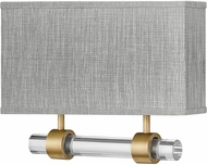 Hinkley 41603HB Luster Contemporary Heritage Brass LED Wall Sconce Light