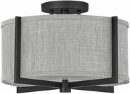 Hinkley 41705BK Axis Modern Black LED Flush Lighting