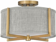 Hinkley 41705HB Axis Modern Heritage Brass LED Flush Mount Lighting
