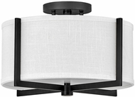 Hinkley 41706BK Axis Contemporary Black LED Overhead Lighting