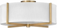 Hinkley 41708HB Axis Modern Heritage Brass LED Home Ceiling Lighting
