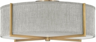 Hinkley 41709HB Axis Modern Heritage Brass LED Overhead Lighting Fixture