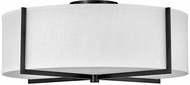 Hinkley 41710BK Axis Contemporary Black LED Ceiling Lighting