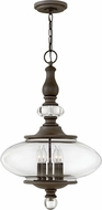 Hinkley 4325OZ Wexley Oil Rubbed Bronze 18 Hanging Light