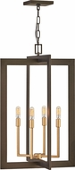 Hinkley 4343MM Anders Modern Metallic Matte Bronze / Deluxe Gold 12  Foyer Lighting Fixture