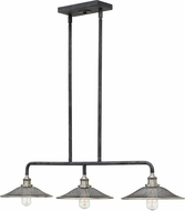 Hinkley 4364DZ Rigby Aged Zinc Kitchen Island Light Fixture