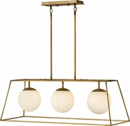 Hinkley 4376HB Jonas Contemporary Heritage Brass Kitchen Island Lighting