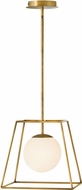 Hinkley 4377HB Jonas Contemporary Heritage Brass Foyer Lighting