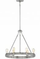 Hinkley 4395BN Everett Modern Brushed Nickel Mini Chandelier Lamp