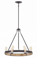Hinkley 4395BZ Everett Contemporary Bronze Mini Chandelier Light