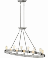 Hinkley 4396BN Everett Modern Brushed Nickel Kitchen Island Light