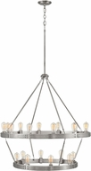 Hinkley 4399BN Everett Modern Brushed Nickel Chandelier Lamp