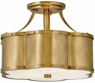 Hinkley 4443HB Chance Contemporary Heritage Brass Home Ceiling Lighting