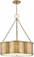 Hinkley 4446HB Chance Contemporary Heritage Brass LED Drop Lighting