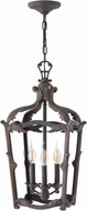 Hinkley 4522AI Sorrento Traditional Aged Iron Entryway Light Fixture