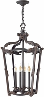 Hinkley 4528AI Sorrento Traditional Aged Iron Foyer Light Fixture
