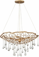 Hinkley 45304BNG Laguna Modern Burnished Gold 26  Ceiling Chandelier