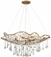 Hinkley 45306BNG Laguna Contemporary Burnished Gold 36  Hanging Chandelier