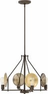 Hinkley 4534OZ Boyer Contemporary Oil Rubbed Bronze Mini Chandelier Lamp