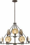 Hinkley 4538OZ Boyer Contemporary Oil Rubbed Bronze Chandelier Light