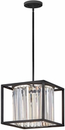 Hinkley 4554BK Giada Contemporary Black Foyer Lighting Fixture