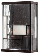 Hinkley 4570KZ Mondrian Short Art Glass Wall Sconce