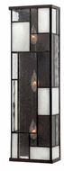 Hinkley 4572KZ Mondrian Tall Art Glass Wall Sconce