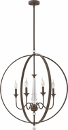 Hinkley 4605OZ Waverly Oil Rubbed Bronze 30  Foyer Lighting