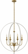 Hinkley 4605WT Waverly Warm White 30  Foyer Light Fixture