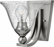 Hinkley 4650BN-CL Bolla Brushed Nickel Wall Lighting Sconce