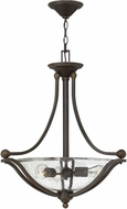 Hinkley 4652OB-CL Bolla Olde Bronze Drop Ceiling Light Fixture