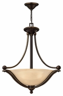 Hinkley 4652OB-LED Bolla Transitional 3 Lamp 23 Inch Diameter Entryway Lighting - Brushed Bronze