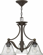 Hinkley 4653OB-CL Bolla Olde Bronze Mini Ceiling Chandelier