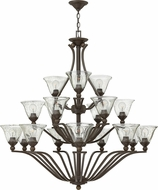 Hinkley 4659OB-CL Bolla Olde Bronze Hanging Chandelier